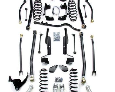 "Teraflex Elite Lcg 4"" Long Flexarm Kit W/ Speedbumps 07-13 Jeep Wrangler Jk"