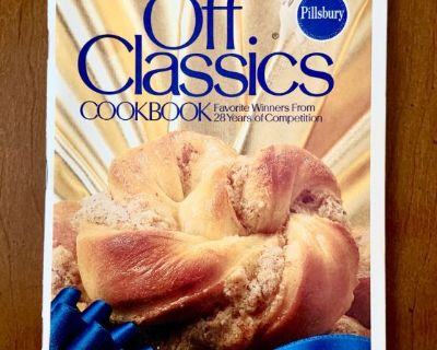 1979 Pillsbury Bake Off Classics Cookbook (28 Years Recipes)