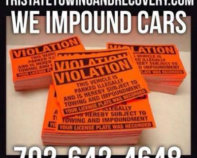 Private Property Impound We Remove Unauthorized and Abandoned Vehicles