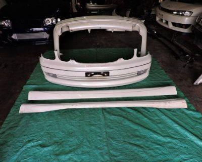 Lexus Gs300 Toyota Aristo Jzs161 Jdm Wald Body Kit Bumper Lip Skirt Frp Vip Trd