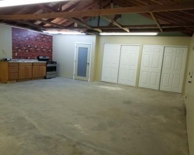 Studio Room With Working Kitchen, Chestnut Vinyl Floor, Open Vaulted Ceiling For Rigging, Lots Of Outside Open Space, Agua Dulce, CA
