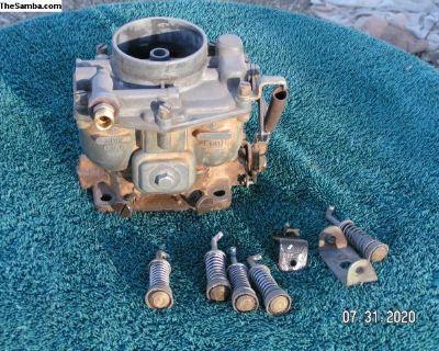 Zenith Carburetor for 356 Porsche