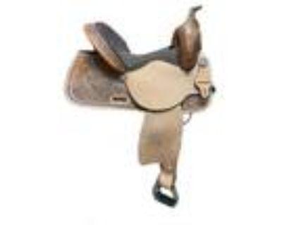 Circle Y Of Yoakum High Horse Barrel Saddle- Style #6225-7406-05