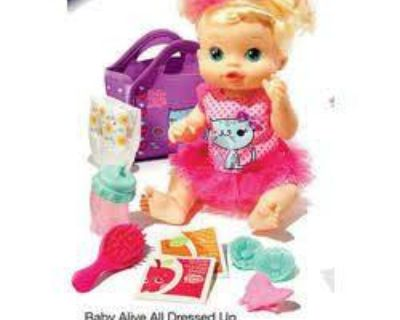 2008 baby alive doll accessories by hasbro