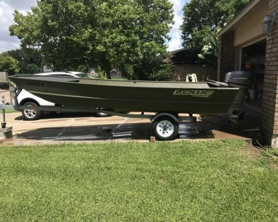 1648 Lowe Boat with 25hp Mariner Outboard