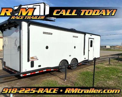 New 2021 Cargo Mate Eliminator 28FT ENCLOSED TRAILER WITH BATHROOM & SHOWER