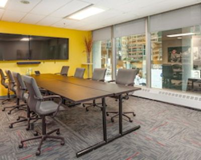 Private Meeting Room for 8 at Metcalfe Centre - TCC Canada