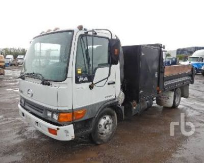 2002 HINO COE Cab and Chassis Trucks Truck