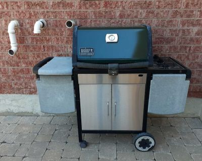 Used Weber Genesis Silver BBQ for sale.