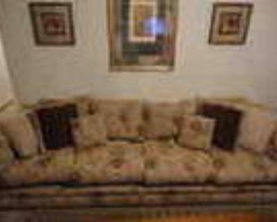 Complete Solid Hardwood Living Room Set 7pc