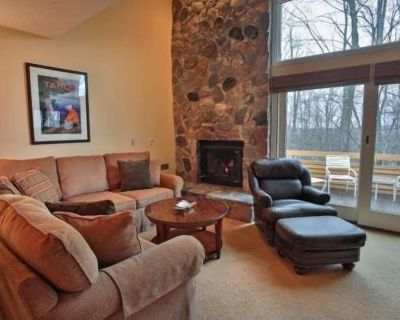 Next to Skiing and Golf. Trout Creek Condo #148 - 2 Bedroom Loft, 2 Baths with Kitchen, Fireplace - Harbor Springs