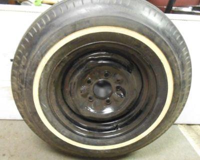 Original Chevelle Ss Gs Gto 442 Mopar Ford Vintage 7.75 Us Royal Laredo Tire Rim