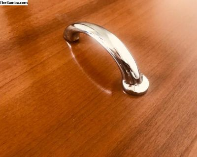 Zwitter Solid Chrome Hood Handle with VW Logo