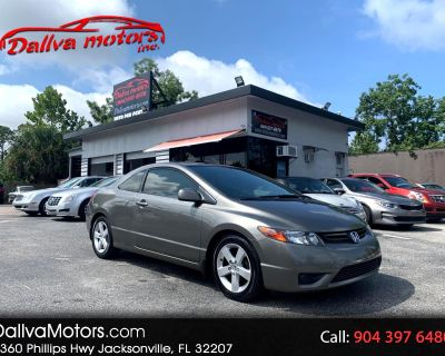 Used 2006 Honda Civic EX Coupe AT with Navigation
