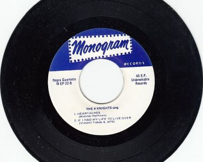 4 KNIGHTS SING ~ 5 SONG 45RPM EP*Mint- !