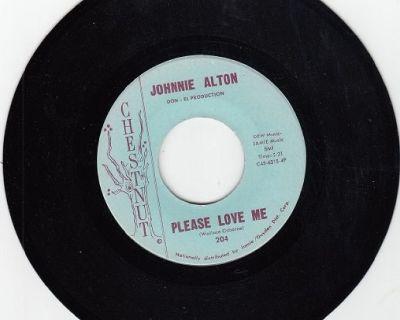 JOHNNIE ALTON & GROUP ~ Please Love Me*Mint-45 !