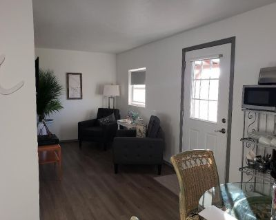 THE NEST is a serene space located in a quiet country RV park. - Capitan