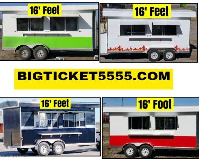 Concession Food Trailer 16' feet