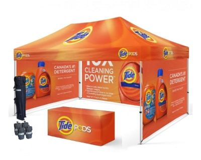 Waterproof Pop Up Canopy Tent with Sides | Atlanta | GA