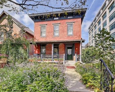 Stay in the heart of downtown Indianapolis in style in this grand historic home! - Babe Denny