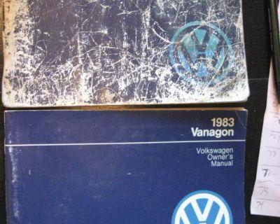 83 vanagon manual