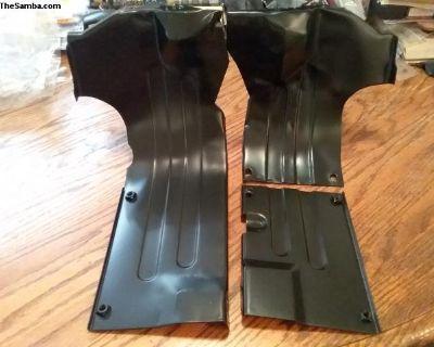NOS Aftermarket 3 piece Lower Air Deflector Tins