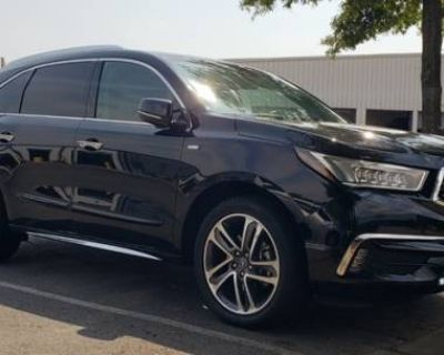 2017 Acura MDX Hybrid with Advance Package