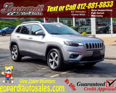 Used 2020 Jeep Cherokee Limited 4x4