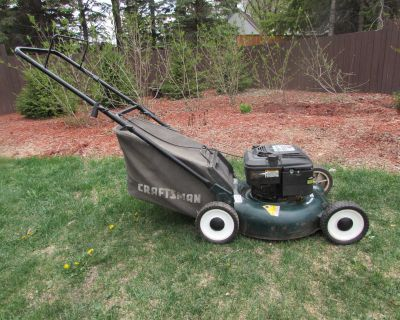 Sears Craftsman Mower with bagger.