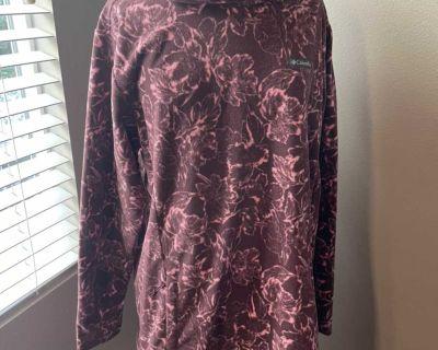 Columbia long sweater