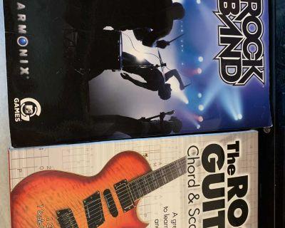 2 pcs Rock Band gaming- like new