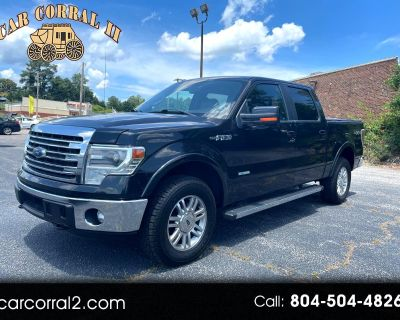 Used 2014 Ford F-150 Lariat SuperCrew 5.5-ft. Bed 4WD