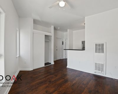Front Facing Corner Studio with Tons of Natural Light and All Utilities Included- Move in Special