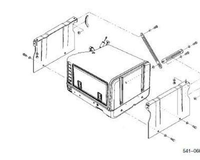 Cummins Onan 541-0661 Underfloor Mount Kit Camp Power
