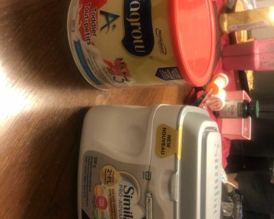 Baby formula 2 cans