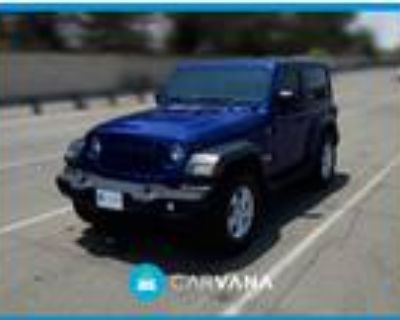 2019 Jeep Wrangler Blue, 6K miles