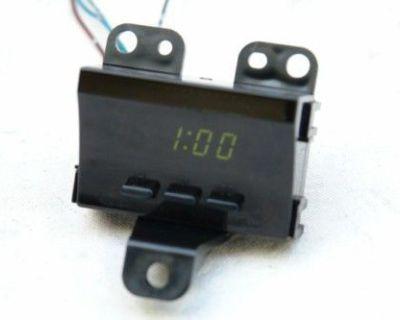 1996 1997 1998 1999 2000 Toyota Rav4 Clock Repair Service To Your Unit