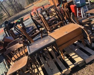 Early Spring Furniture Sell-Off! Many $10 items!