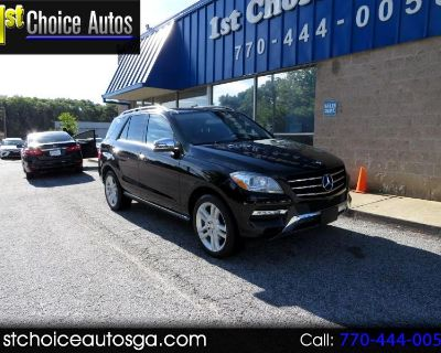 Used 2014 Mercedes-Benz M-Class RWD 4dr ML 350