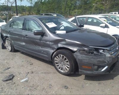Salvage Gray 2010 Ford Fusion