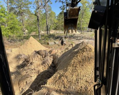 Land Clearing Tractor Work