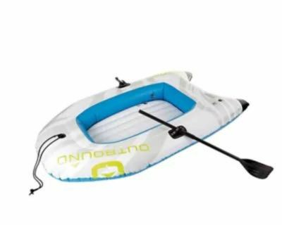 Outbound 2-Person Inflatable River Boat Set