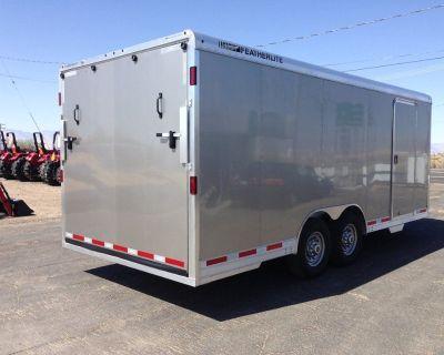 20ft Aluminum Race Car Hauler,  Aluminum Cargo Trailer, Featherlite Enclosed Car Hauler 4926-0020