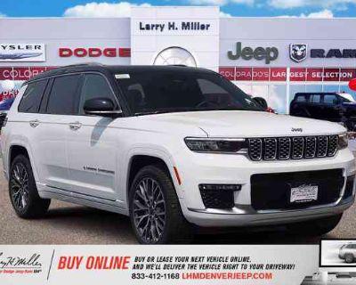 2021 Jeep Grand Cherokee L Summit Reserve