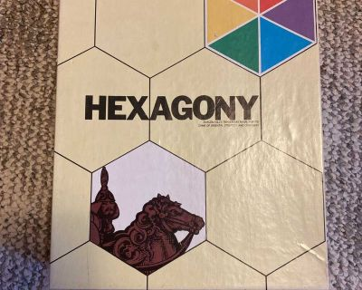 Hexagony Game (old/vintage)