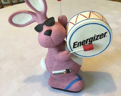 LIMITED EDITION ENERGIZER BUNNY BANK