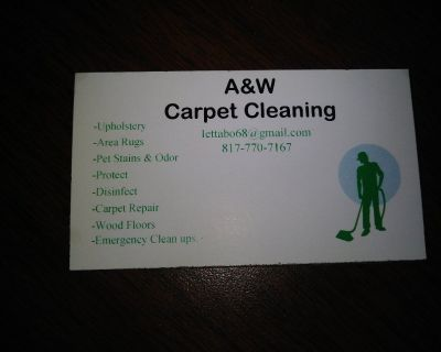 A&W Carpet and Tile Cleaning