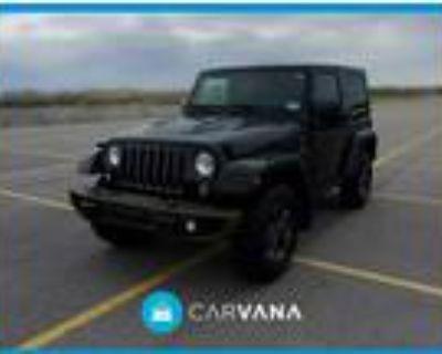 2016 Jeep Wrangler Black, 25K miles