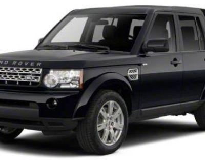 2012 Land Rover LR4 LUX