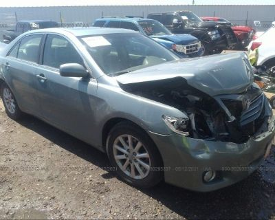 Salvage Turquoise 2011 Toyota Camry